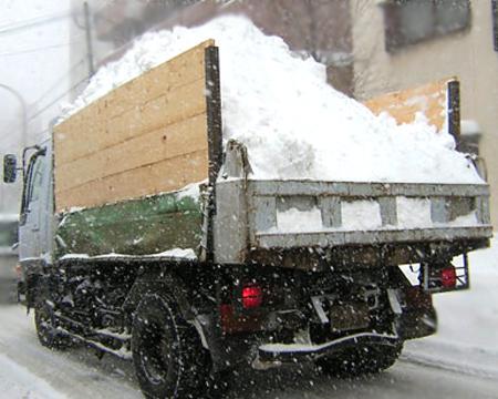 雪道トラック