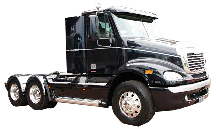 ボンネット型トラック