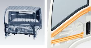 タイタン 高剛性キャビン&ウエストレインフォース