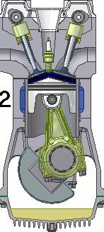 ガソリンエンジン 圧縮