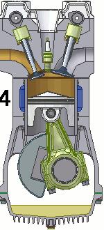 ガソリンエンジン 排気