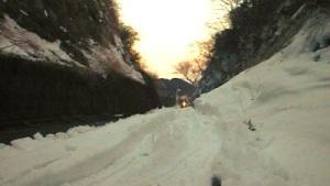 雪道でスタックした場合