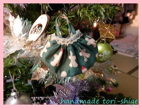 クリスマスバージョンミニギャザーバッグ6