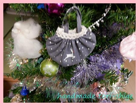 クリスマスバージョンミニギャザーバッグ1