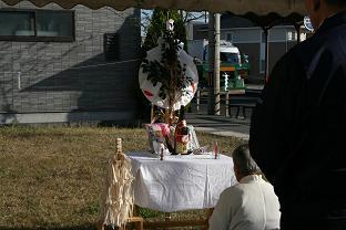 加茂モデル地鎮祭2