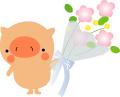 ブログ素材(花束)