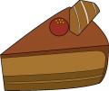 ブログ素材(チョコケーキ)