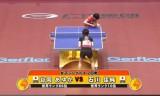 【卓球】 世界卓球2011 石川佳純VS谷岡あゆか(カット)