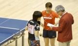 石川佳純VS酒井春香1 全日本選手権2014