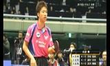 水谷隼VS町飛鳥(決勝戦)全日本選手権2014