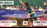 男子シングル決勝戦 シンガポール海外大会