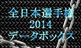 全日本選手権2014速報 データボックス