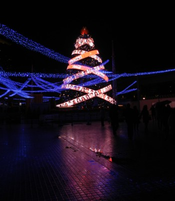 お台場 クリスマスツリー