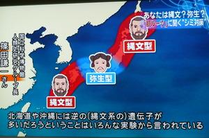日本の中の縄文人弥生人