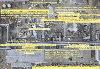 原発爆破の証拠写真