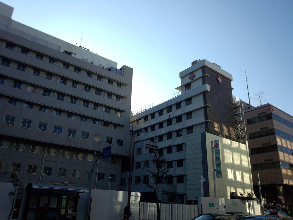 建設中@静岡 静岡赤十字病院と...