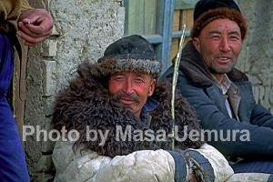 カザフ族の羊飼い
