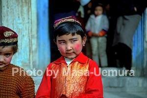中国系の子供