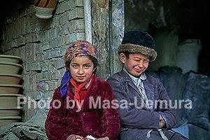 パキスタン系の子供