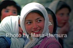 パキスタン系の女性