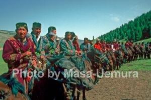 姑娘追の祭り(カザフ族)