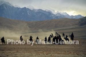 馬術競技(タジク族)