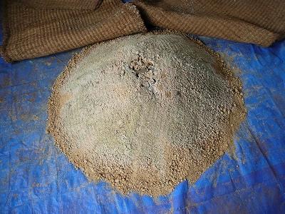 一次発酵開始11日後のボカシ肥料