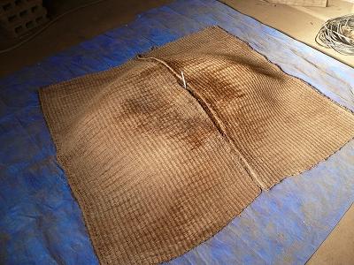 二次発酵開始3日後のボカシ肥料