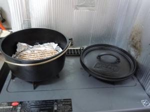 ダッチオーブンセッティング