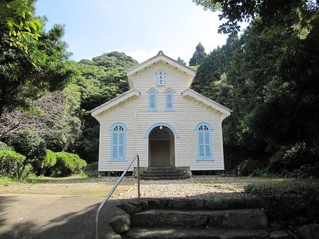 奈留島江上天主堂
