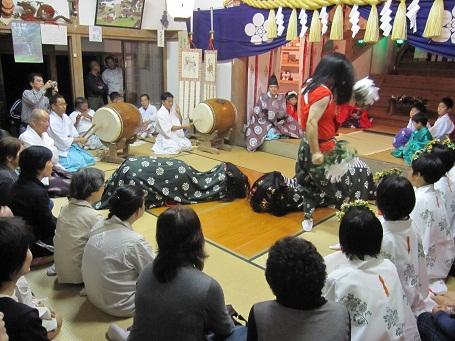 小串神社夜神楽