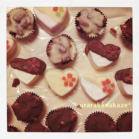 バレンタイン チョコ作り