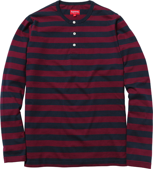 striped henley navy