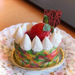 苺のムース01@お菓子工房 PONY 2014年10月