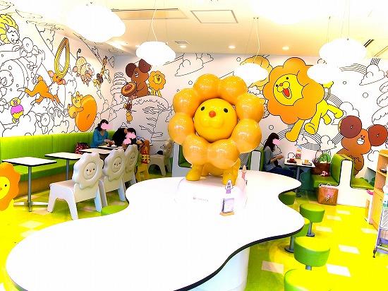 店内@東京ソラマチPON DE LION PARK 2014年09月
