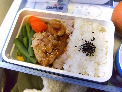 機内食03‐01@China Airlines 2014年11月18日