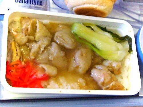 機内食07@China Airlines 2014年11月18日