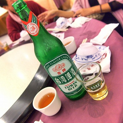 ビール@萬翔餐廳(ONE HSIANG RESTAURANT)