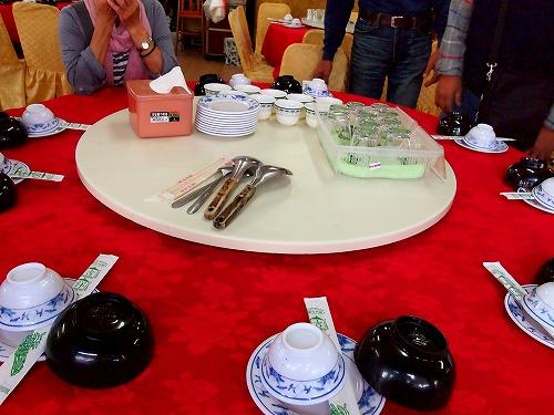 テーブル@野鴨谷餐廳