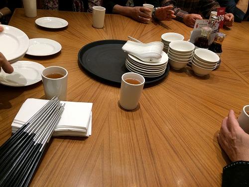 テーブル@鼎泰豐
