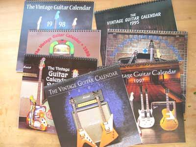 ギターカレンダー