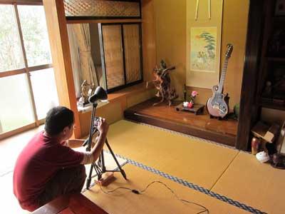 ギター撮影