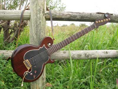 ジャズマスターPU付きギター