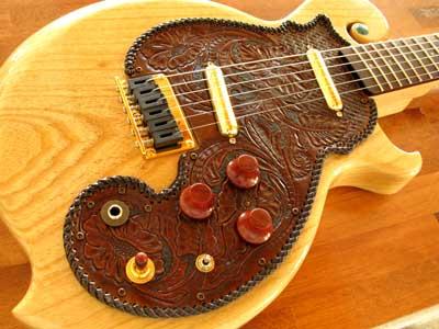 レザークラフトギター