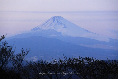 西伊豆スカイラインからの富士山
