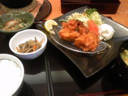 阿蘇地鶏のから揚げ定食
