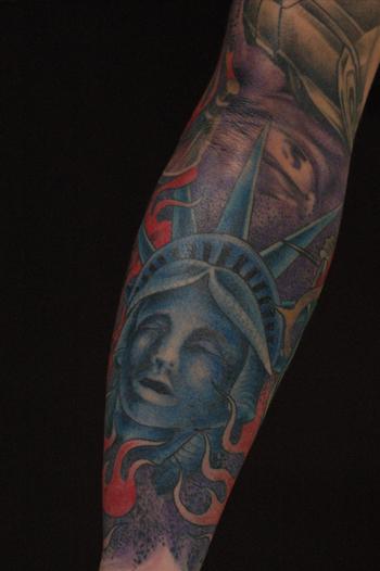 自由の女神 刺青 TATTOO タトゥー