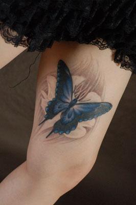 蝶 チョウ タトゥー TATTOO 刺青