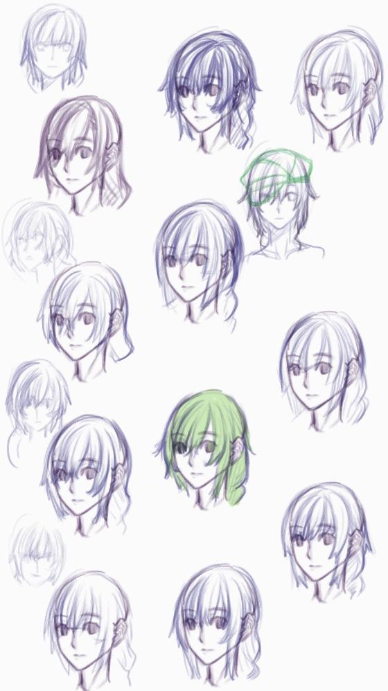 髪型デザイン案