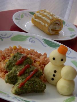20111223親子クッキング料理写真